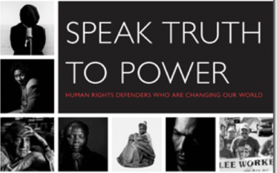 Speak Truth to Power – Staged Reading