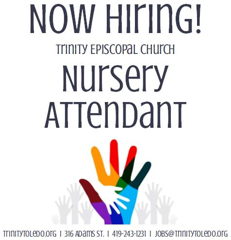 Nursery Attendant Needed