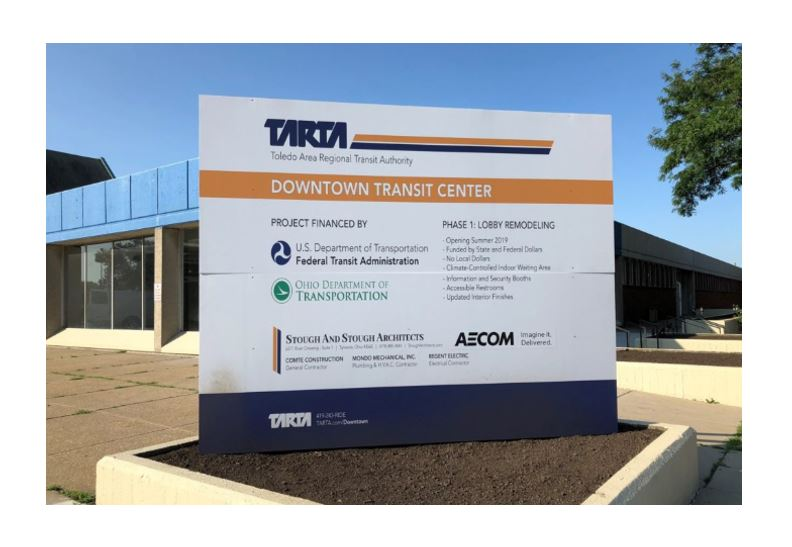 TARTA moved to Downtown Toledo!