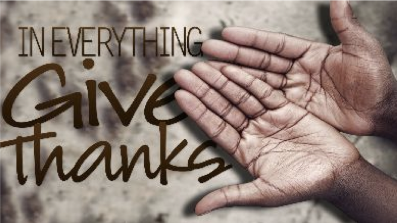 Taking Time to Say Thank You