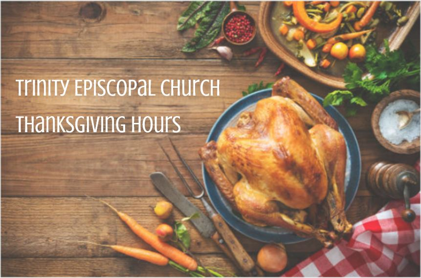 Trinity Office Hours over Thanksgiving
