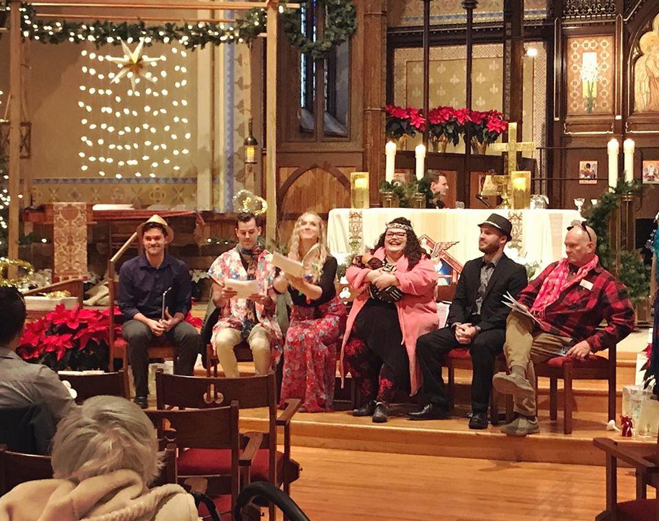 Christmas Eve Pop-Up Christmas Pageant