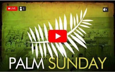 Live Streamed Worship: Sunday, April 5 | 10am